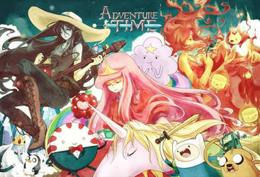 Adventure Time by FLAFLY
