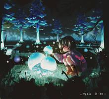 Undertale_Mushroom Lamp