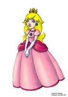 Princess Peach by Mellish