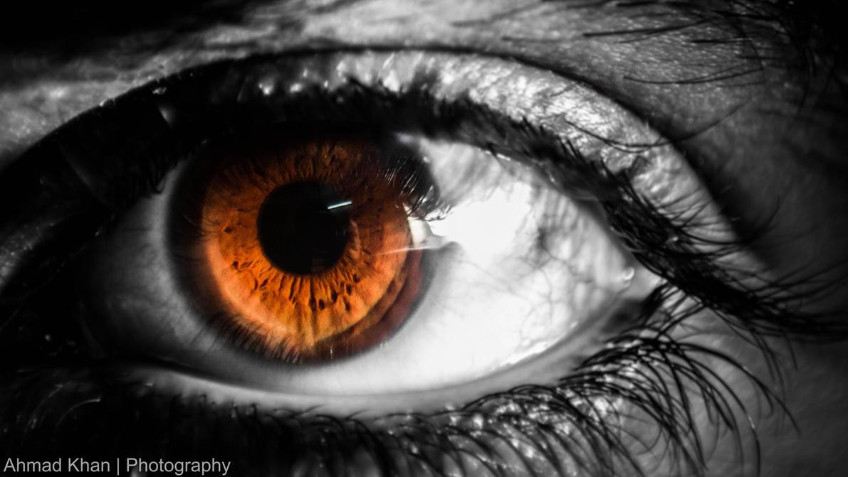 The Amazing Human Eye by Ahmad8Khan