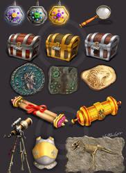 Different props by Naqsh-gar