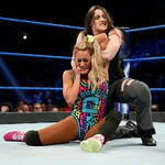 Nikki Cross hurting Carmella