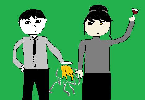 Mr. and Mrs. Dobinski by IvyDevi