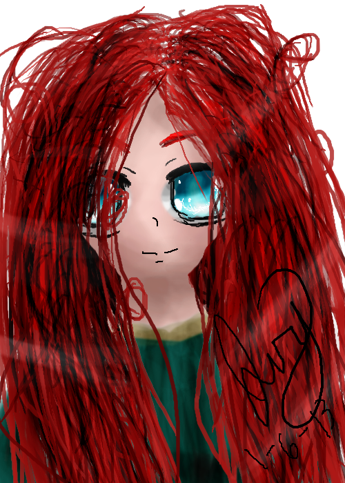 Merida by IvyDevi