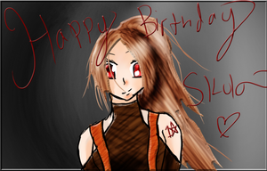[UTAU] Happy Birthday Skul [Lucetta Hageshine] by IvyDevi