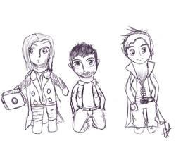Fandom Guy Chibi Sketches by IvyDevi