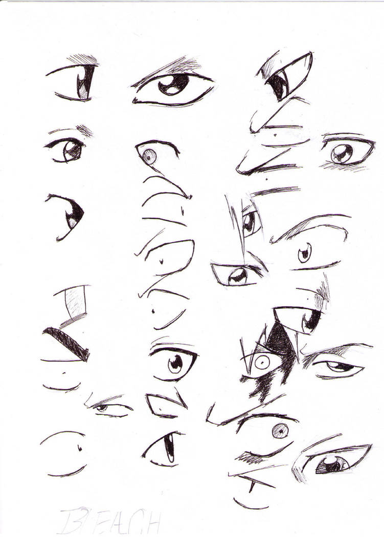 28 ways to draw bleach eyes by x final x