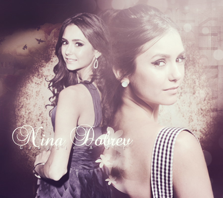 Nina Dobrev Wallpaper: Wallpaper Nina Dobrev By StefinaGraphicART On DeviantArt