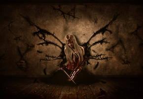 Room for Dark Angels by KarinClaessonArt