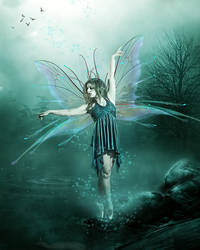 Fairy Dance by KarinClaessonArt