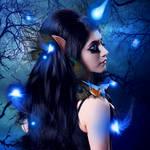 Blue Heaven by KarinClaessonArt