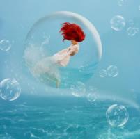 Wind in a Bubble by KarinClaessonArt