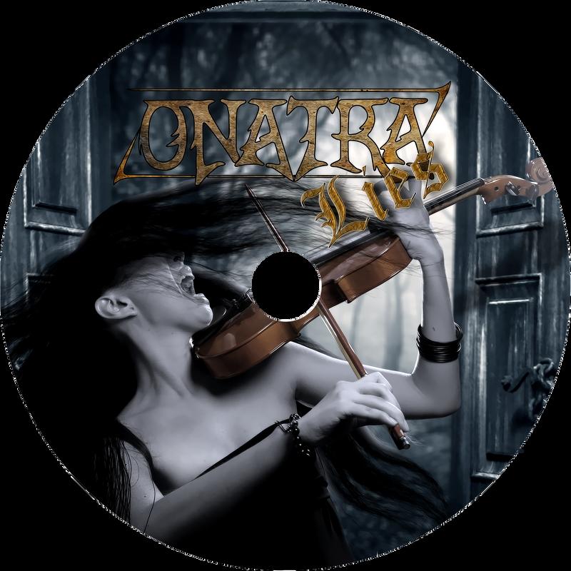 Onatra CD front by SweediesArt