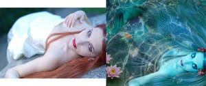 Before and after 'Blue Mermaid*