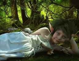 Little Sweetie by KarinClaessonArt