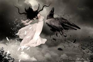 Passion  (in dark version) by KarinClaessonArt