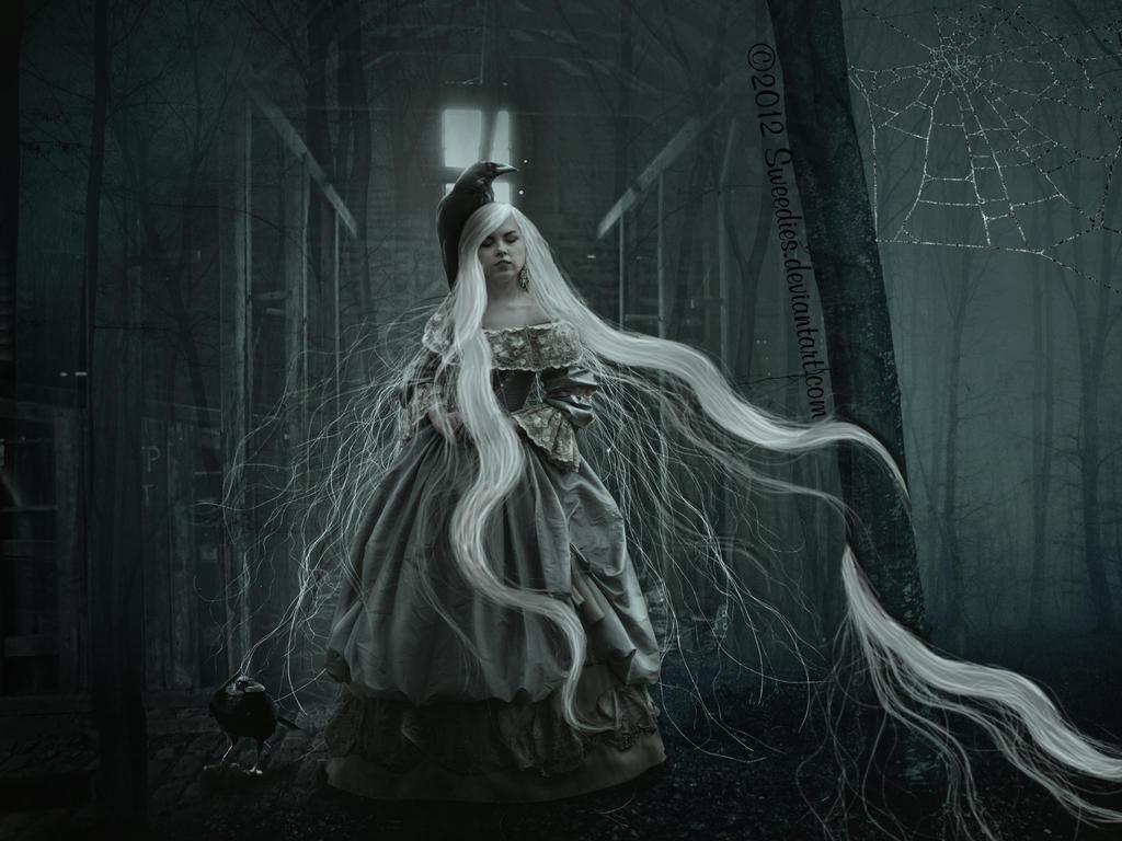 Mother of Ravens by KarinClaessonArt