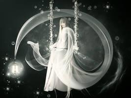 White Queen by KarinClaessonArt