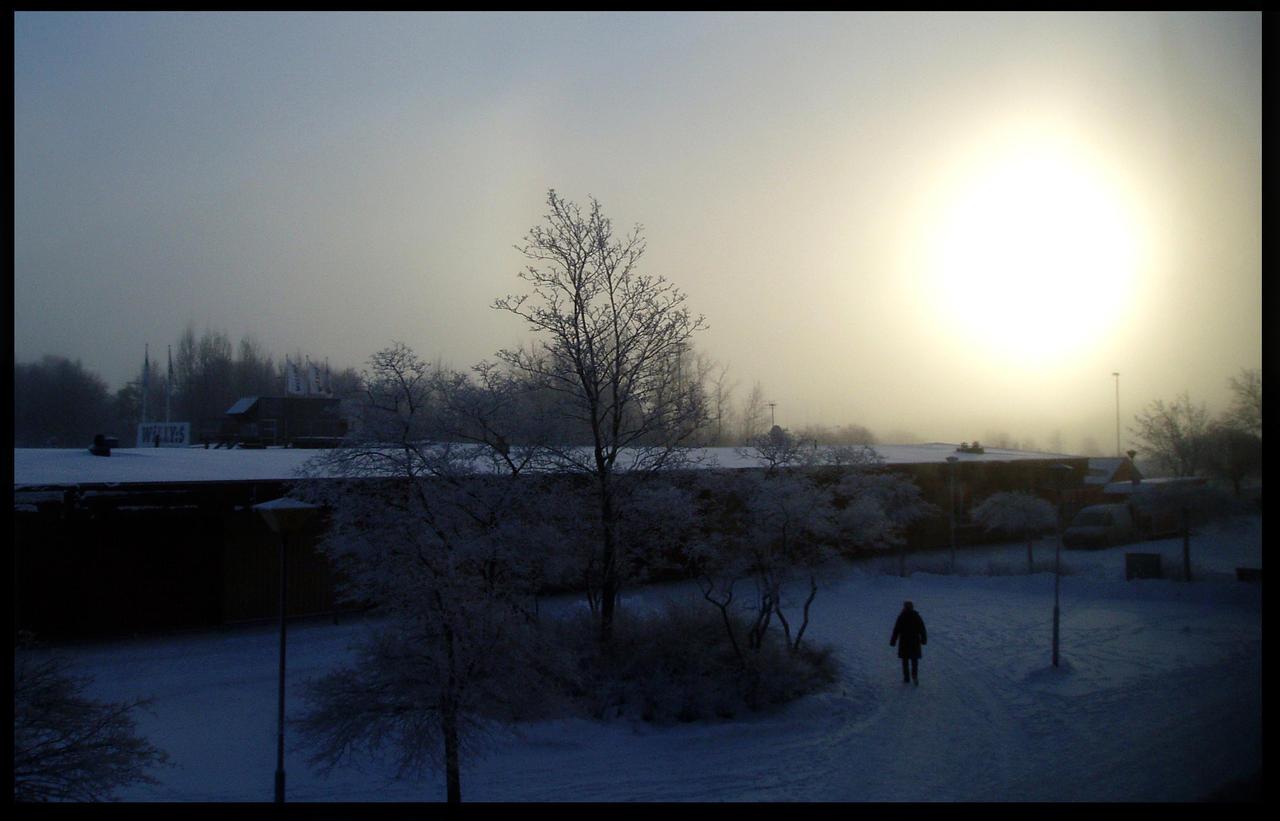 Frozen Sun by SweediesArt