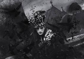 RavenKing by KarinClaessonArt