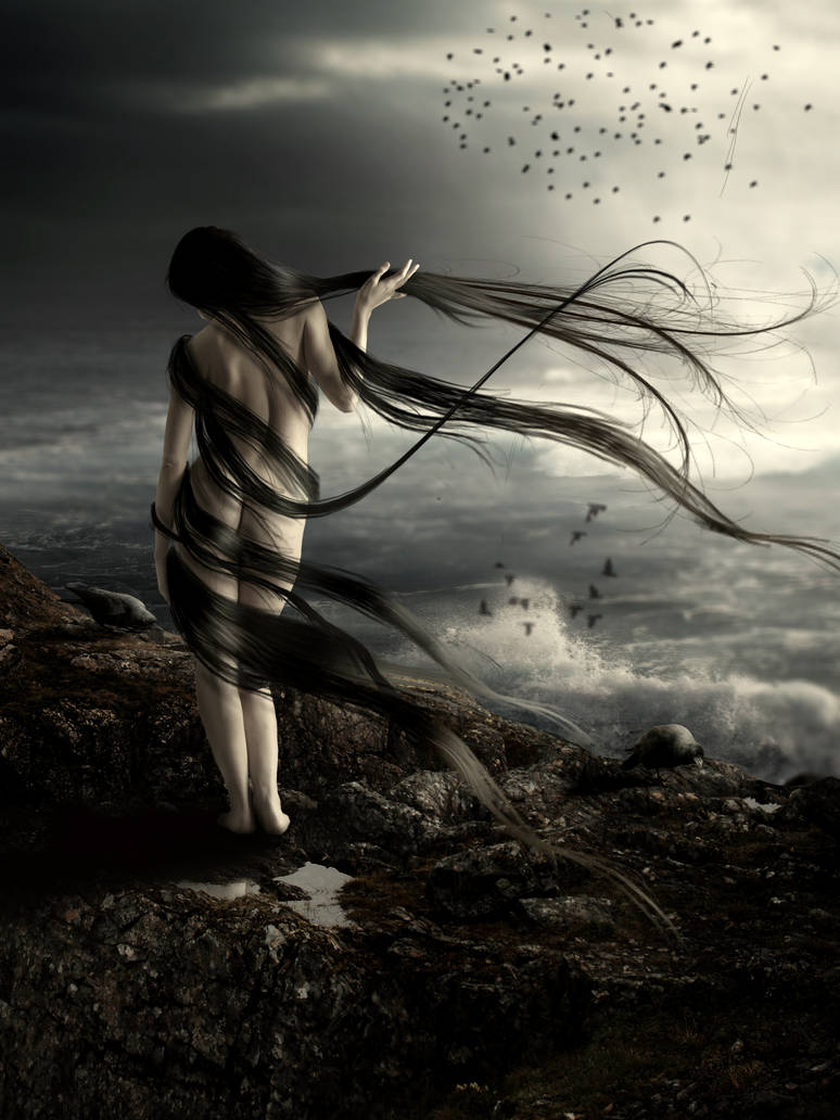 Melody for Ravens by KarinClaessonArt