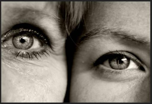 Mother vs Daughter Eye