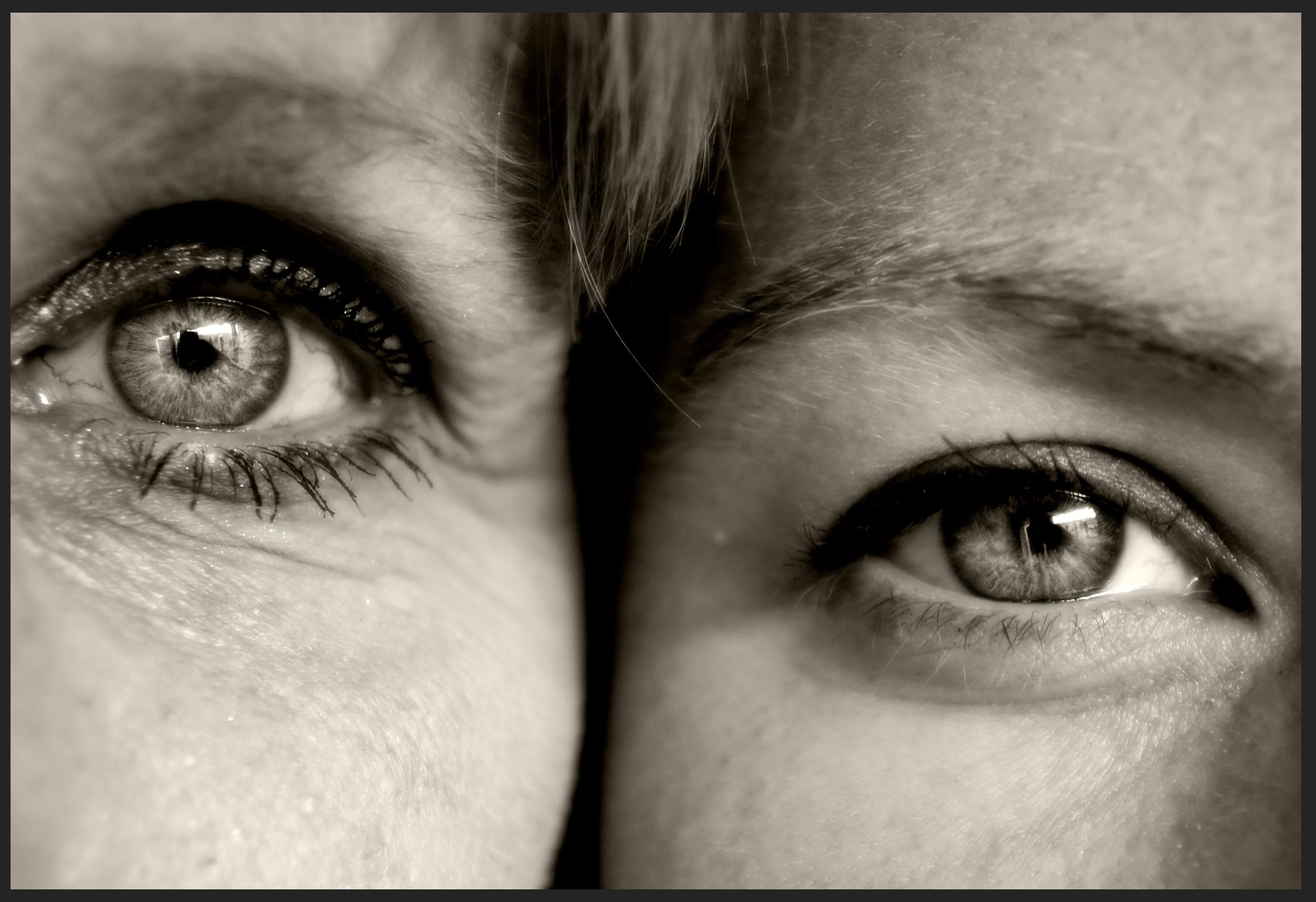 Mother vs Daughter Eye by SweediesArt