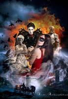 Wandering Hallows Night by KarinClaessonArt