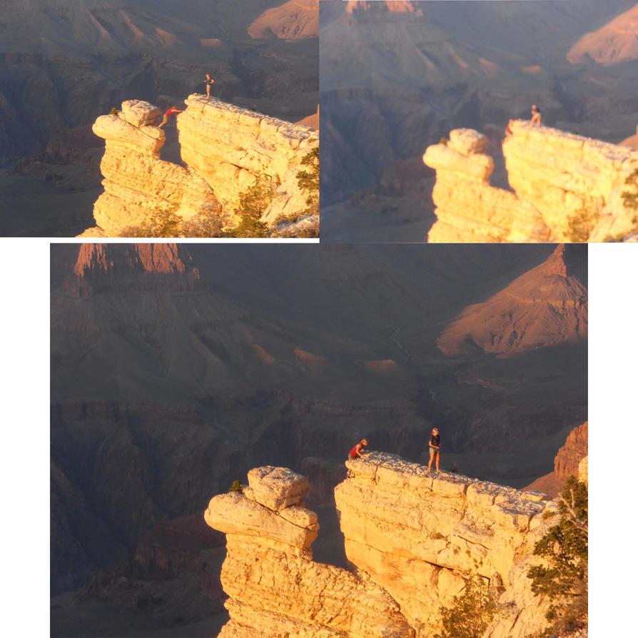 idiots at Grand Canyon by SweediesArt