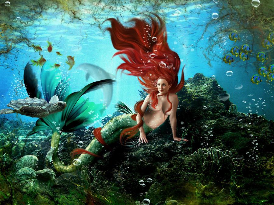 Deep Allure by KarinClaessonArt
