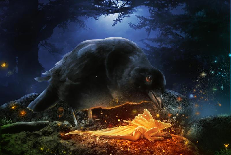 Sleeping Beauty by KarinClaessonArt