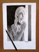 Pracice drawing Portrait by KarinClaessonArt