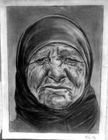 Wrinkles practice drawing by KarinClaessonArt