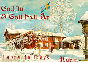 God Jul Merry Christmas to my friends