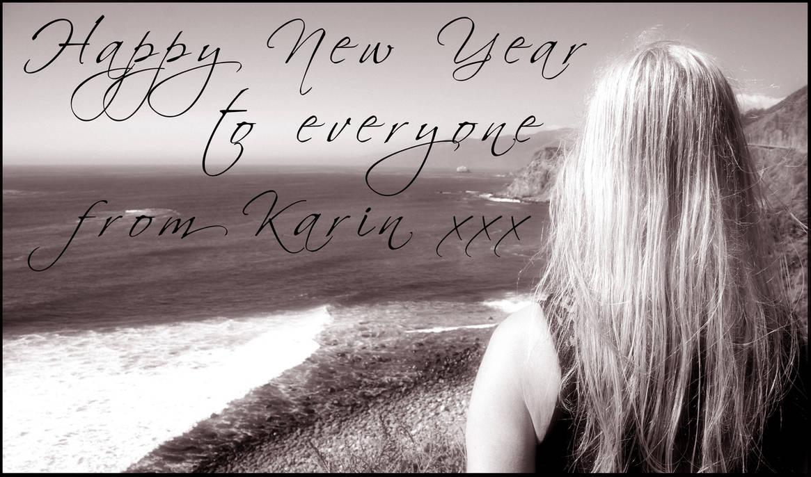 Happy New Year 2017 by KarinClaessonArt