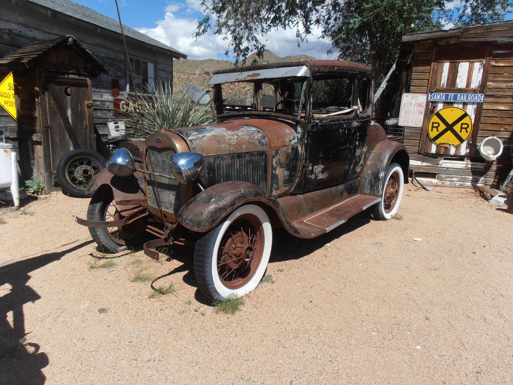 old car 39 by KarinClaessonArt