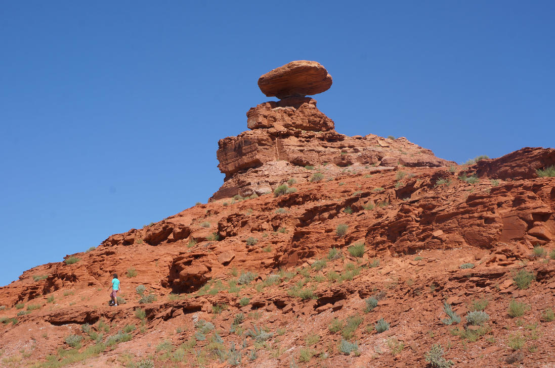 Monument Valley, Mexican Hat by KarinClaessonArt