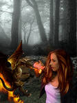 Dragonland eBook cover by KarinClaessonArt