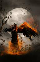 Angel of Fire by KarinClaessonArt