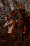 Angel of Apocalypse by KarinClaessonArt
