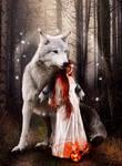 Fairies Woods by KarinClaessonArt