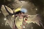 My Heavenly Valentine by KarinClaessonArt