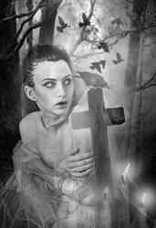 The Sorrow by KarinClaessonArt