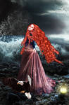 Eagle Woman by KarinClaessonArt