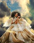 Queen of Heaven by KarinClaessonArt