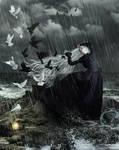 Sorrow and Hope by KarinClaessonArt