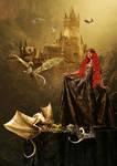 DragonQueen by KarinClaessonArt