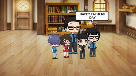 to my virtual dad
