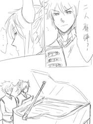 Piano Duet1 by SieghartDio