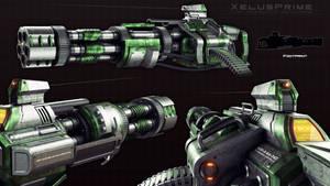 XAV-45 Vulcan Cannon